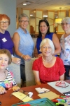Great group of ladies at the second meeting: Paula, Janet, Vicky, Gail, Sandy and Ingrid